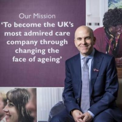 Picture of Martin Jones , CEO of Home Instead Senior Care