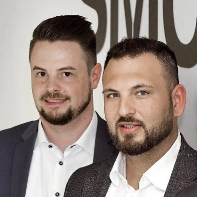 Picture of Daniel Martens und Sascha Steinhardt, CEO of SMC Engineering