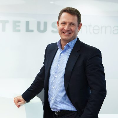 Picture of Jeff Puritt, CEO of TELUS International