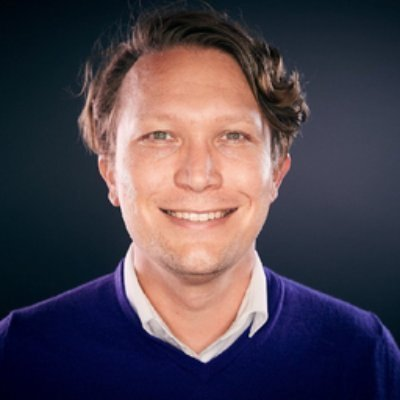 Picture of Simon Frank, CEO of Cyberport GmbH