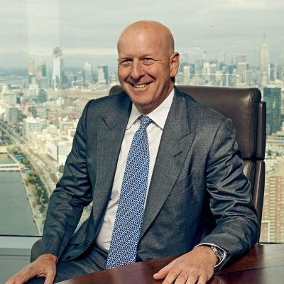 Picture of David M. Solomon, CEO of Goldman Sachs