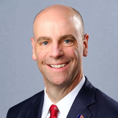 Picture of Damon T. Hininger, CEO of CoreCivic