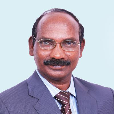Headshot of Kailasavadivoo Sivan, CEO of Indian Space Research Organization