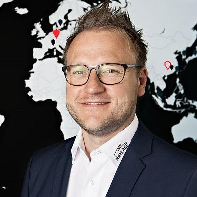 Picture of Dr. Philipp Schön, CEO of RAYLASE GmbH