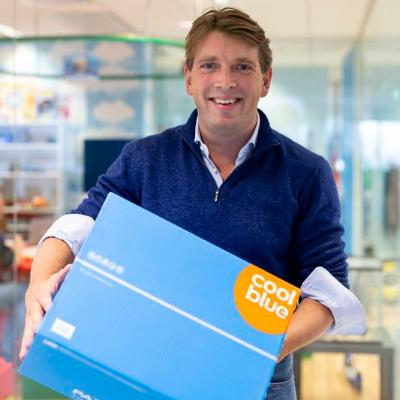 Picture of Pieter Zwart , CEO of Coolblue
