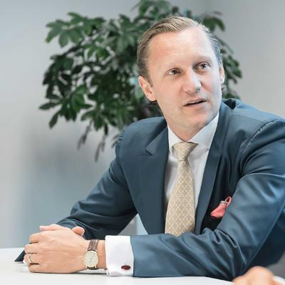 Picture of Alex Gerritsen, CEO of PERM4   Permanent Recruiting GmbH