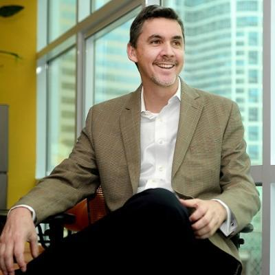 Headshot of Chris Caldwell, CEO of Concentrix