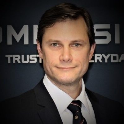 Picture of Tom Prins, CEO of Commissionaires Great Lakes