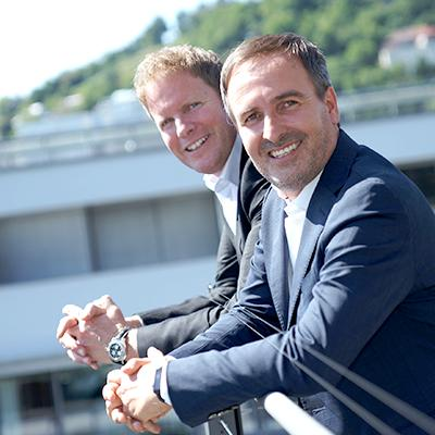 Picture of Stefan Oertel & Thomas Dold, CEO of DYMATRIX CONSULTING GROUP GmbH