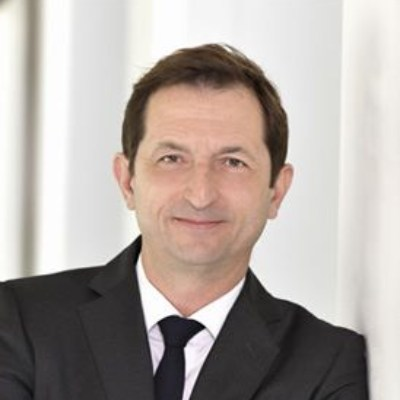 Headshot of Bertrand Camus, CEO of SUEZ