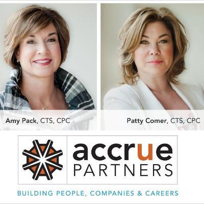 Picture of Patty Comer & Amy Pack, CEO of Accrue Partners