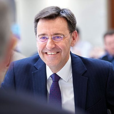 Picture of Steve Wadey, CEO of QinetiQ
