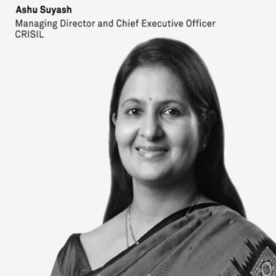 Picture of Ashu Suyash, CEO of CRISIL LIMITED