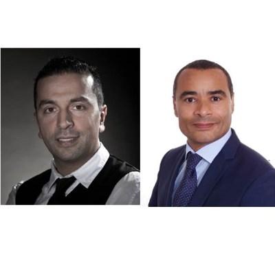 Picture of Rafik Khaldi et Wilfrid Pliya, CEO of HOMEPERF
