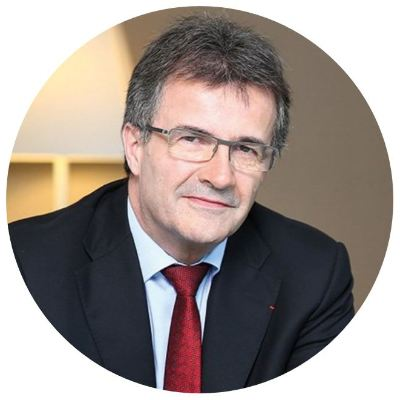 Headshot of Philippe Brassac, CEO of Crédit Agricole