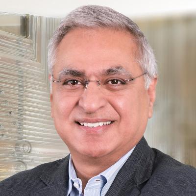 Portrait de Salman Amin, PDG chez pladis
