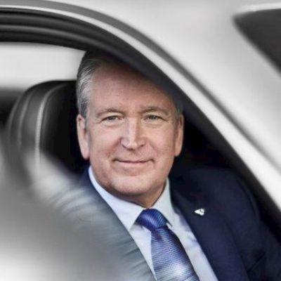 Picture of Adrian Hallmark, CEO of Bentley