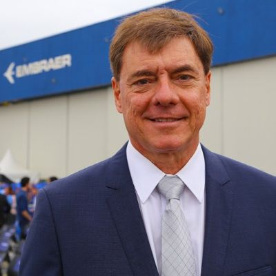 Picture of Francisco Gomes Neto, CEO of Embraer