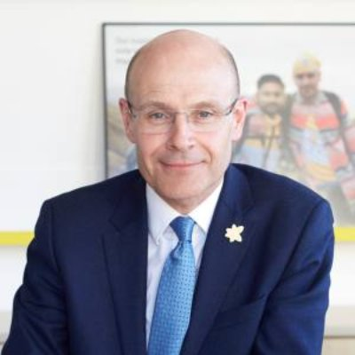 Picture of Matthew Reed, CEO of Marie Curie
