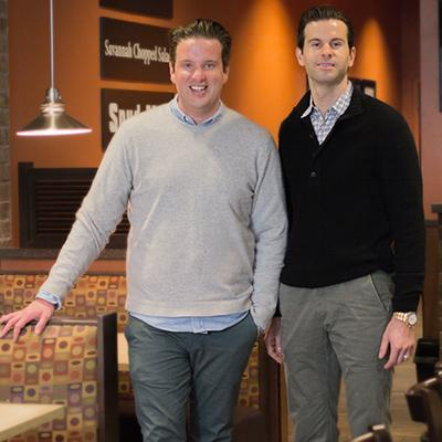 Picture of Adam Saxton & Matt Saxton, CEO of The Saxton Group