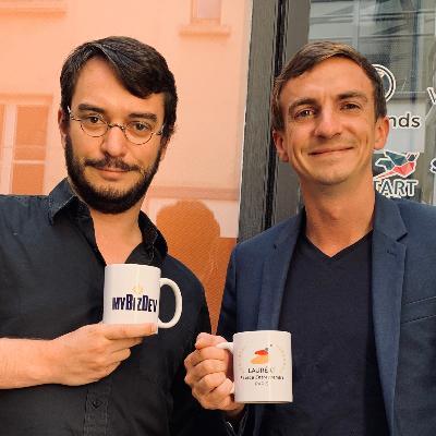 Portrait de Maxime Pari & Pierre Mousnier, PDG chez MyBizDev