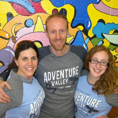 Picture of Camp Directors Kevin, Robyn and Ashlee, CEO of Adventure Valley Day Camp