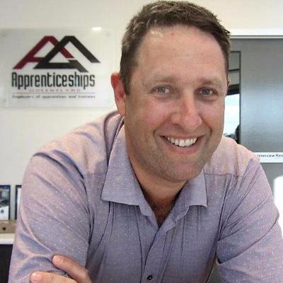 Picture of Paul Hillberg, CEO of Apprenticeships QLD