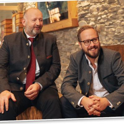 Picture of Gerhard Halamoda & Andreas Reichert, CEO of Allresto Flughafen München