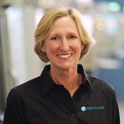 Picture of Victoria Holt, CEO of Protolabs