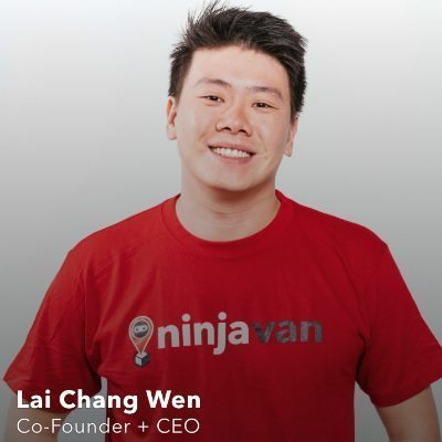 Picture of Lai Chang Wen, CEO of Ninja Van