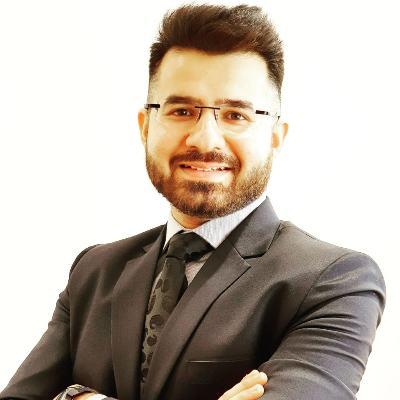 Headshot of Raghav Choudhary, CEO of Crescendo Global