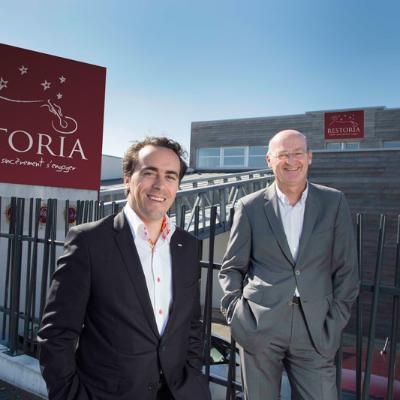 Picture of Philippe COMTE & Emmanuel SAULOU, CEO of RESTORIA
