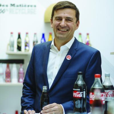 Picture of François Gay-Bellile, CEO of Coca-Cola European Partners