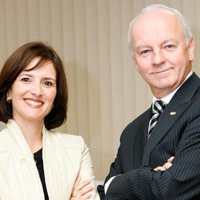 Picture of Julie Bergevin et Gaétan Migneault, CEO of Adèle Plus