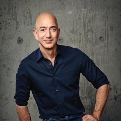 Picture of Jeff Bezos, CEO of Amazon.com