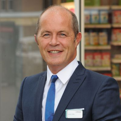 Picture of Cormac Tobin, CEO of LloydsPharmacy