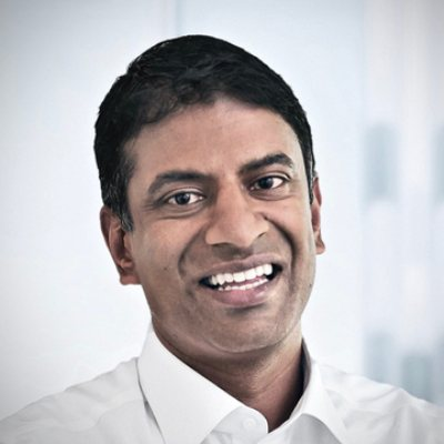 Picture of Vas Narasimhan, CEO of Novartis