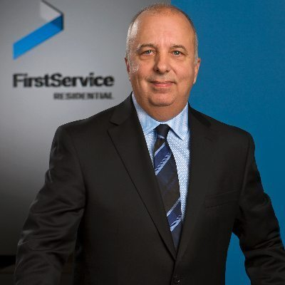 Headshot of Randy Hutchings, CEO of FirstService Residential, Ontario