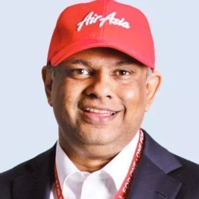 Picture of Tony Fernandes, CEO of AirAsia
