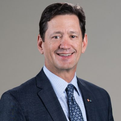 Picture of Wayne Peacock, CEO of USAA