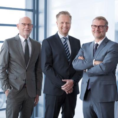 Picture of Norbert Maul. Sascha Bruckhoff, Markus Tesch , CEO of Start NRW GmbH