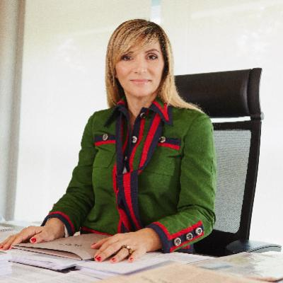 Picture of Stefania Atzori, CEO of Sirio Spa