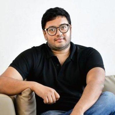 Picture of Sriharsha Majety, CEO of Ride.Swiggy