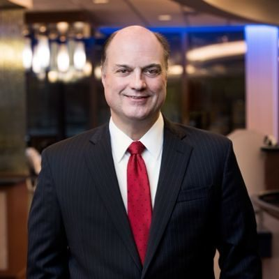 Picture of Greg Dufour, CEO of Camden National Bank