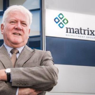 Picture of Kieran McKeown, CEO of MATRIX Recruitment Group