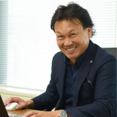 Picture of 大都英俊, CEO of 株式会社ライジングコーポレーション