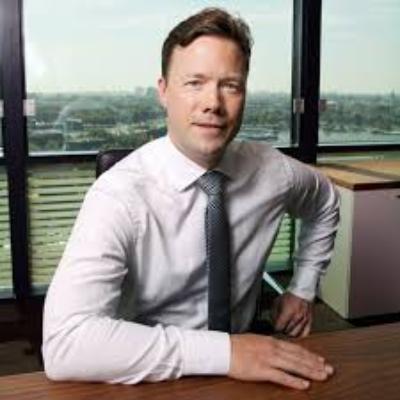 Picture of Benedikt Sobotka, CEO of ERG