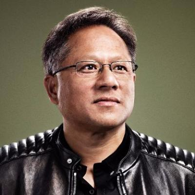 Picture of Jensen Huang, CEO of NVIDIA
