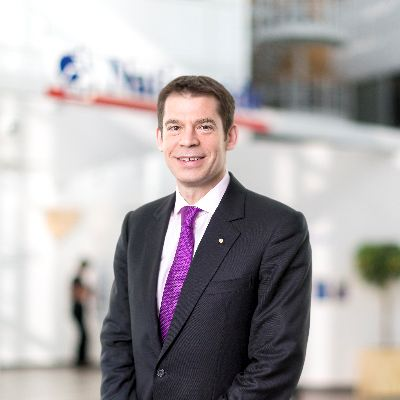 Picture of Joe Garner, CEO of Nationwide Building Society