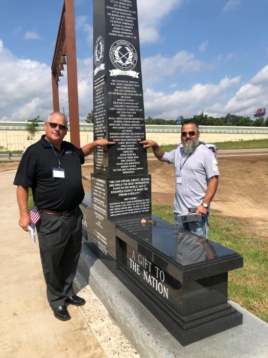 The Montgomery County Veterans Memorial
